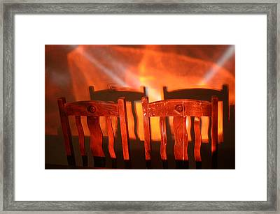 Evening Meal Framed Print by Jez C Self