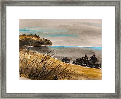Evening On The Seacoast Framed Print by John Williams