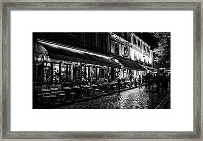 Evening Out - Paris Framed Print by Gerhard Bogner