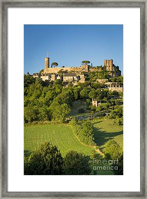 Evening Over Turenne Framed Print by Brian Jannsen