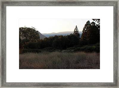 Evening Prayer Framed Print