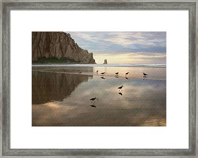 Evening Reflection Framed Print by Sharon Foster