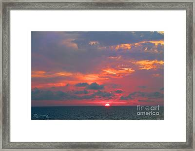 Evening Ritual Framed Print