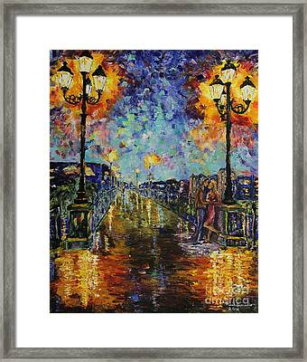 Evening Romance Framed Print