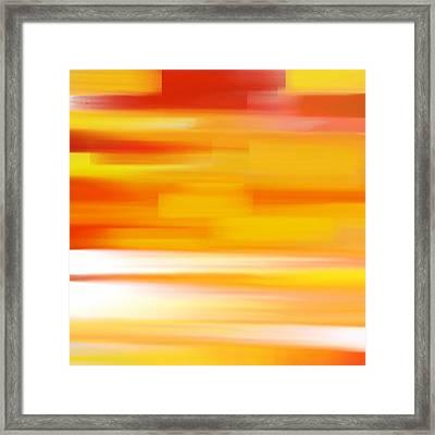 Evening Sea Framed Print