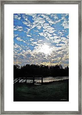 Evening Shadows Framed Print by Joan  Minchak