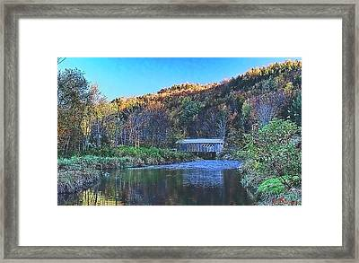 Evening Shadows Framed Print by John Selmer Sr