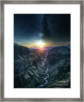 Evening Sky Framed Print