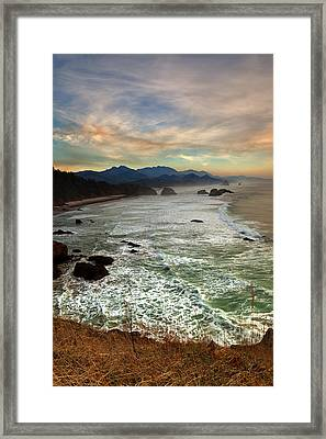 Evening Slumber Framed Print