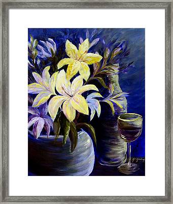 Evening Stars Framed Print by Joanne Smoley