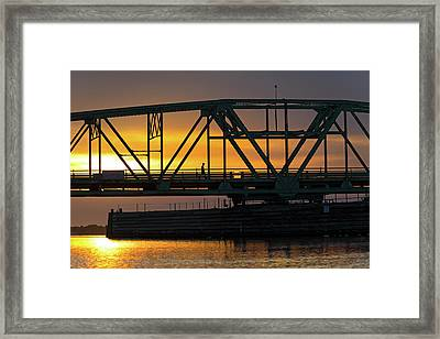 Evening Stroll Framed Print by Betsy Knapp