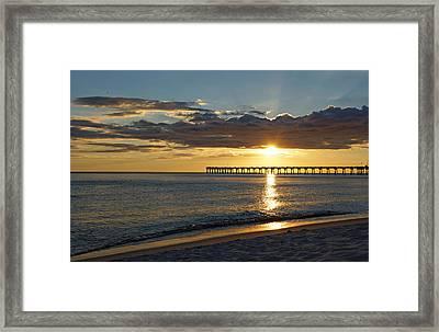 Evening Sunlight Framed Print