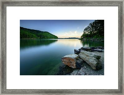 Evening Thoughts Framed Print