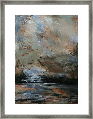 Evening Tide Framed Print by Robin Lee