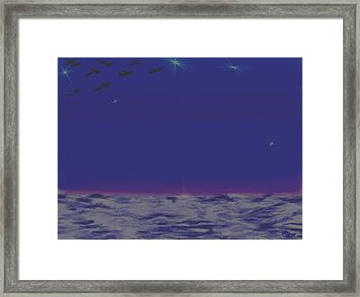 Evening.birds Framed Print by Dr Loifer Vladimir
