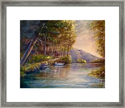 Evening's Twilight Framed Print
