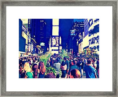 Event Framed Print by Gillis Cone