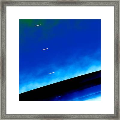 Event Horizon Framed Print by Nero Kein