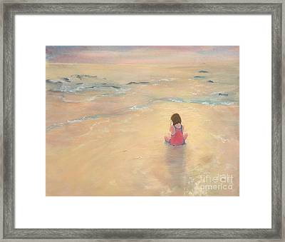 Eventide Framed Print by Mary Lynne Powers