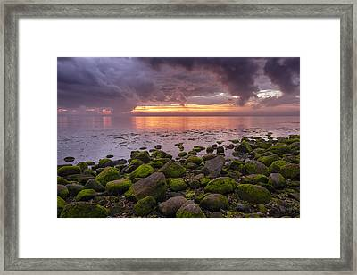 Eventide Framed Print by Mike Lang