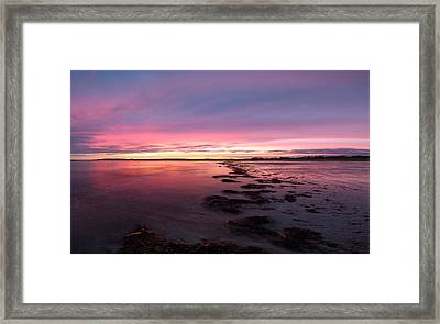 Eventide Framed Print by Robert Clifford