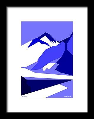 Everest Framed Prints