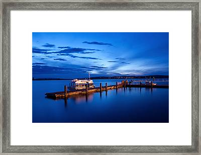 Everett Waterfront Framed Print
