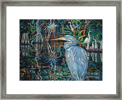 Everglades Framed Print by Donald Maier