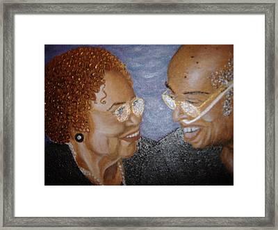 Everlasting Love Framed Print by Keenya  Woods