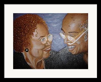 Keenya Woods Mixed Media Framed Prints