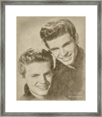 Everly Brothers Framed Print