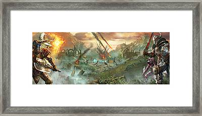 Everquest Battlegrounds Framed Print by Ryan Barger