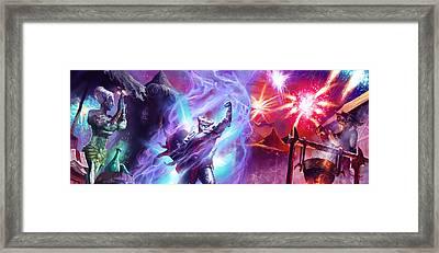 Everquest Celebration Framed Print by Ryan Barger