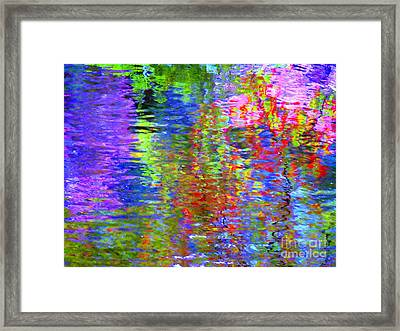 Every Act Of Love Framed Print by Sybil Staples