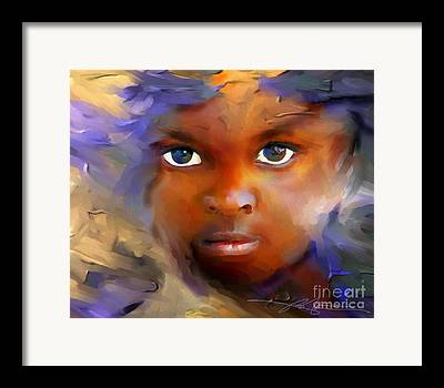 Haiti Framed Prints