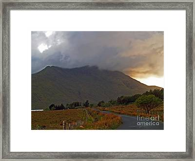 Every Cloud Has A Silver Lining Framed Print
