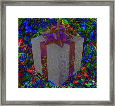 Every Day Christmas  Framed Print