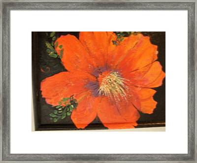 Every Day Is A Holiday Framed Print by Anne-Elizabeth Whiteway