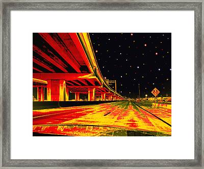 Are We There Yet Framed Print