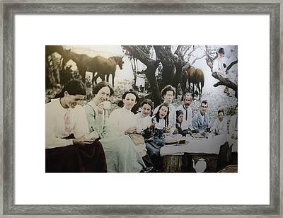 Framed Print featuring the photograph Every Day Life In Nation In Making by Miroslava Jurcik