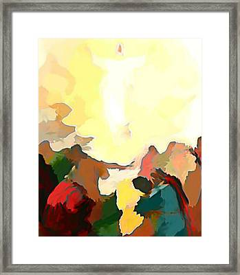 Every Eye Shall See Framed Print by Keith Clark