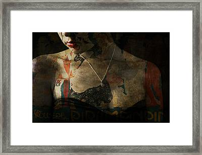 Every Picture Tells A Story Framed Print by Paul Lovering