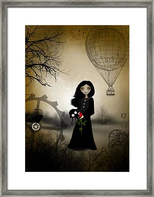 Every Rose Has It's Thorn Framed Print by Charlene Zatloukal