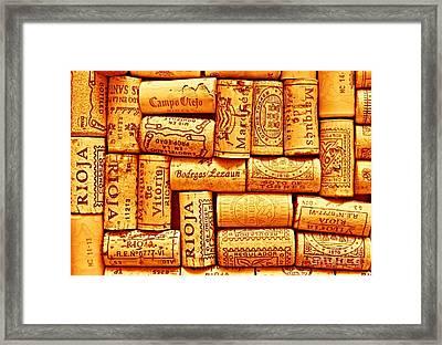 Every Which Way Rioja Framed Print
