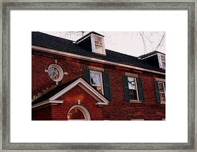Framed Print featuring the photograph Every Window Tells A Story by Lois Lepisto