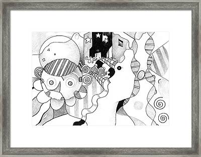 Everybody Dreams Framed Print by Helena Tiainen
