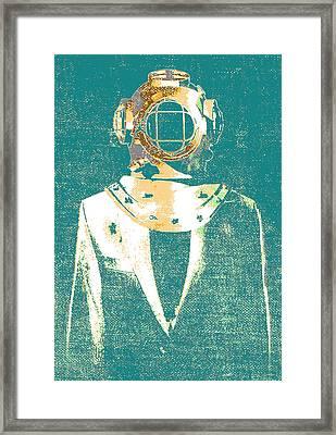 Everyday Diver Framed Print