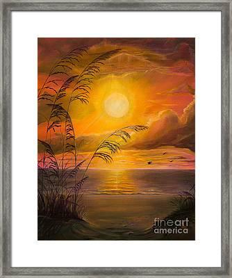 Everyday Sunrise Framed Print by Zina Stromberg