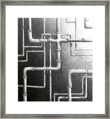 Everyone Else Framed Print
