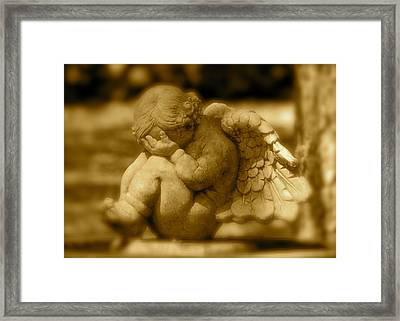 Everyone Has Their Days Framed Print by Kathy Gibbons